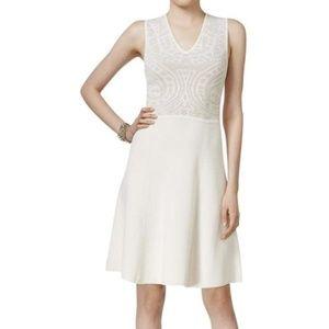 Anne Klein Ivory Knit Dress NWT